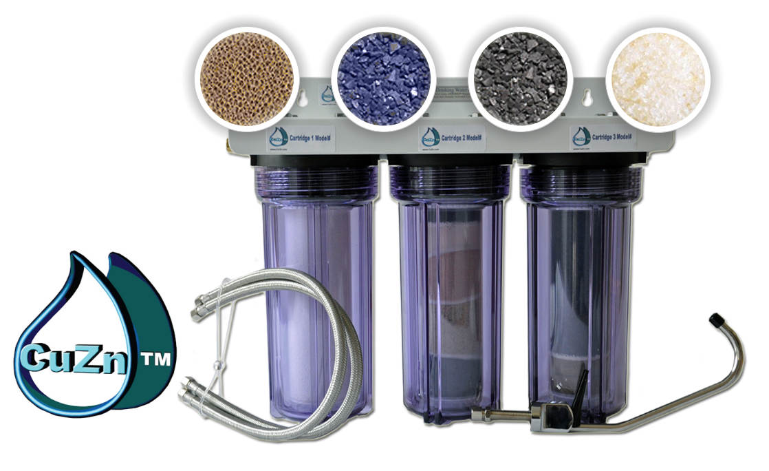 CuZn Water Filtration product banner