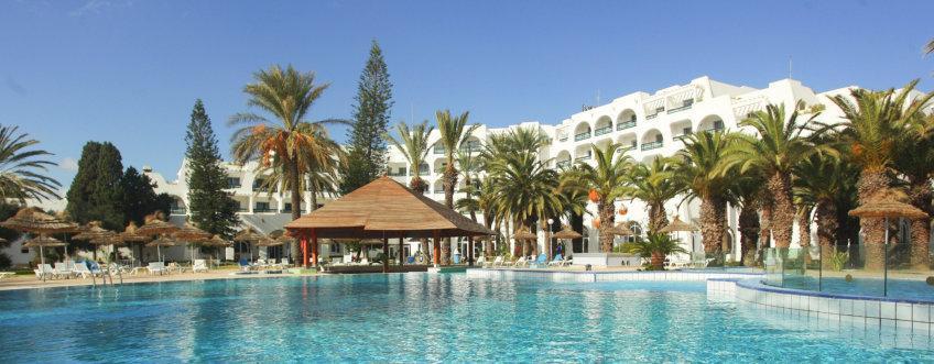 Hotel Marhaba Sousse vulcan removes scale from boilers