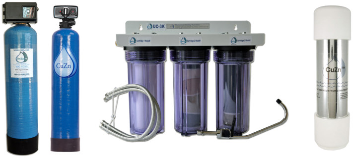 cuzn clean water filter no back washing